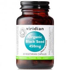 Organic Black Seed  Ekologiczna Czarnuszka 450 mg