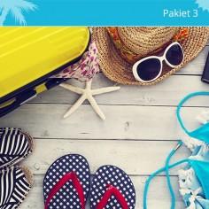 Pakiet 3 Zdrowa ochrona w podróży dla dzieci