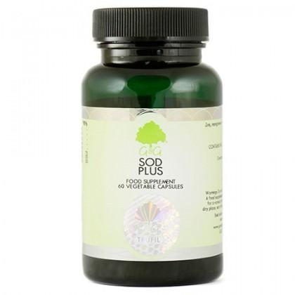 SOD Plus Dysmutaza Ponadtlenkowa 275 mg 60 kapsułek G&G