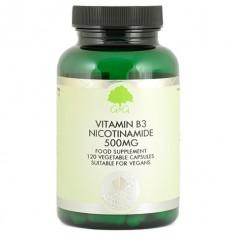G&G Witamina B3 (amid kwasu nikotynowego) 500 mg 120 kapsułek