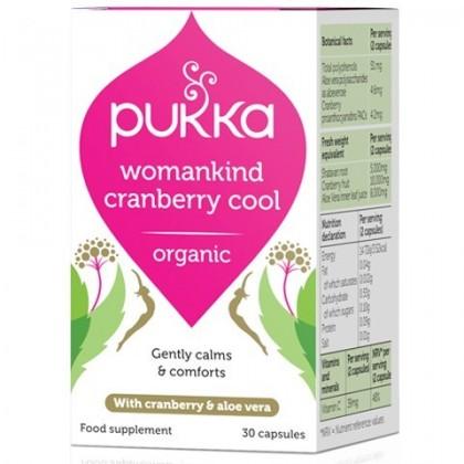 Womankind Cranberry Kobieta i Żurawina