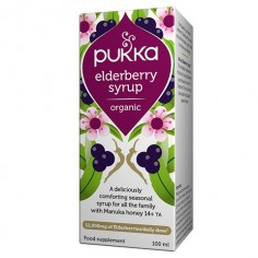 Elderberry Syrup dla układu oddechowego
