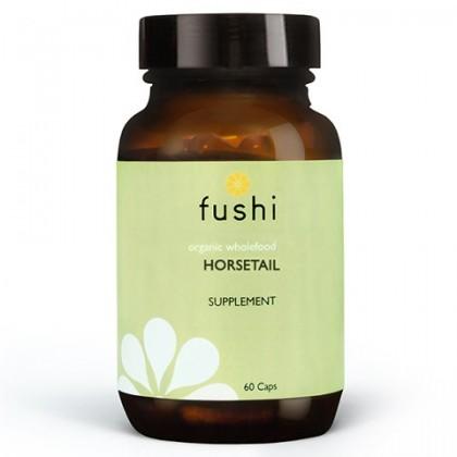 Horsetail BIO Ekologiczny skrzyp 470 mg sproszkowany 60 kapsułek Fushi