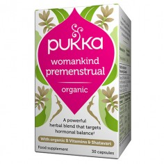 Womankind with organic B Vitamins & Shatavari