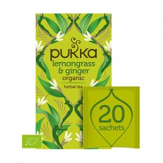 Pukka Lemon Grass & Ginger 20 saszetek