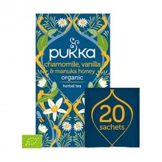 Pukka Chamomile, Vanilia & Manuka Honey 20 saszetek