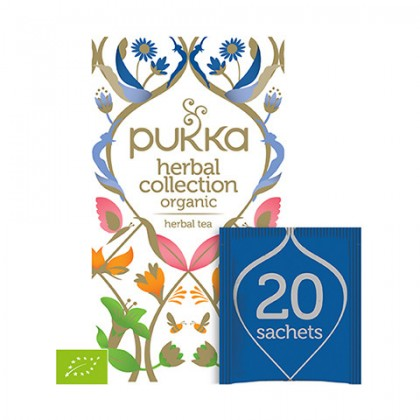 Pukka Herbal Colletion - Mix 20 saszetek
