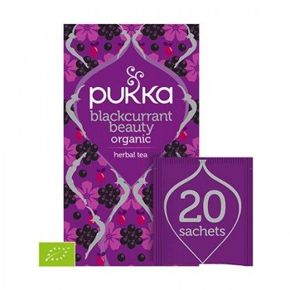 Pukka Blackcurrant Beauty 20 saszetek