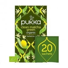 Pukka Clean Matcha Green 20 saszetek