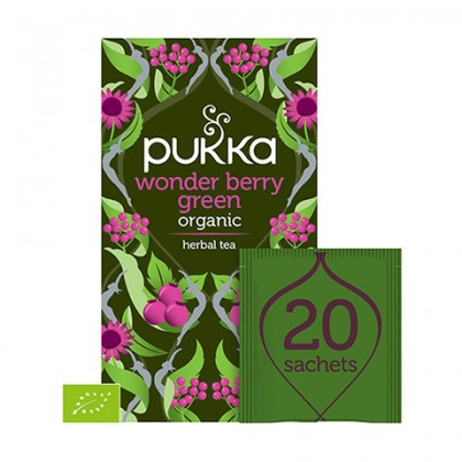 Pukka Wonder Berry Green 20 saszetek