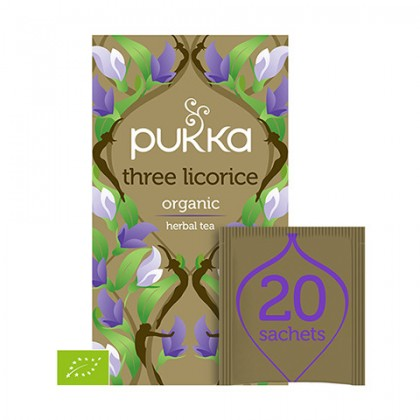 Pukka Three Licorice BIO 20 saszetek
