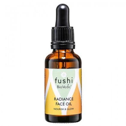 Biovedic Olejek rozświetlający do twarzy Naturalnie odżywczy 30 ml Fushi