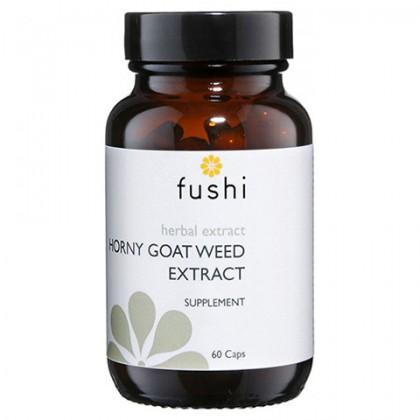 Horny Goat Weed Epimedium Ekstrakt 275 mg 60 kapsułek Fushi