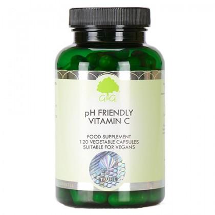 Witamina C Ph Friendly Askorbinian wapnia 450 mg 120 kapsułek G&G