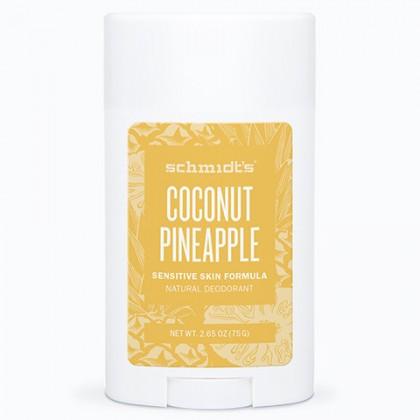 SCHMIDTS Dezodorant w sztyfcie Coconut + Pineapple 75g