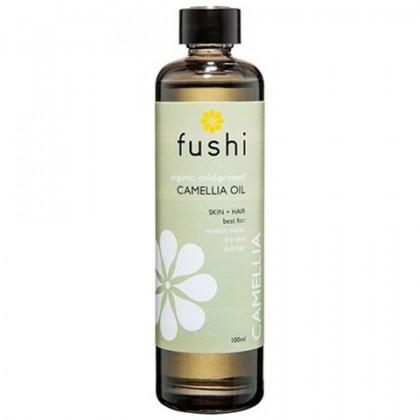 Olejek z Kamelii BIO Ekologiczny tłoczony na zimno 100 ml Fushi