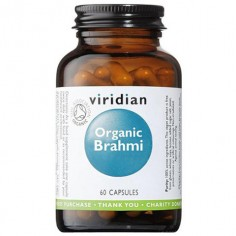 Ekologiczna Brahmi (Bacopa monnieri) 60 kapsułek