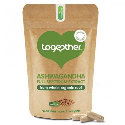 Ashwagandha Extract 500 mg dla Wegan i Wegetarian 30 kapsułek Together