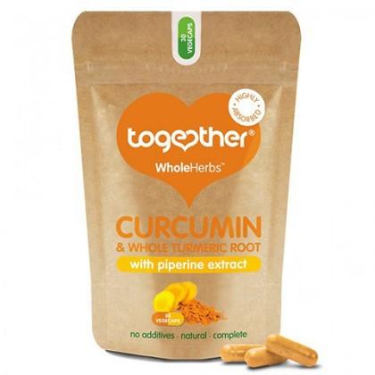 Kurkumin Kurkuma 300 mg z ekstraktem z piperyny 30 kapsułek Together