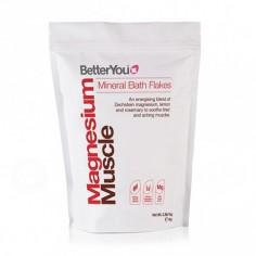 BetterYou Płatki Magnezowe - Regeneracja mięśni 1kg