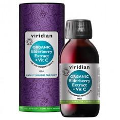 Organic Elderberry Extract + Vit C (Ekologiczny Ekstrakt z czarnego bzu + wit C)