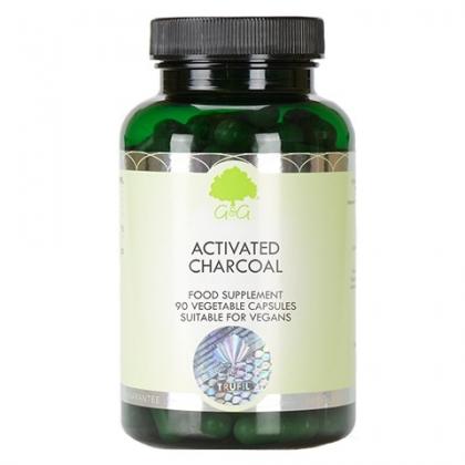 Węgiel Aktywny C60 450 mg 90 kapsułek G&G