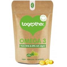 Omega 3 DHA i EPA dla Wegan 30 kapsułek Together