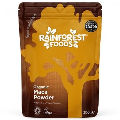Korzeń Maca BIO Ekologiczny 300g w proszku Rainforest Foods