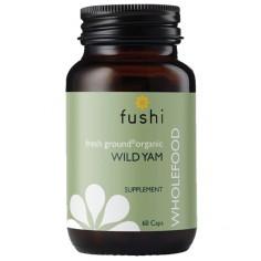 Wild Yam Dziki Pochrzyn sproszkowany 100% RAW 60 kapsułek 370 mg Fushi