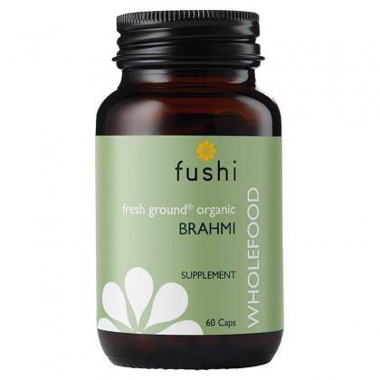 Brahmi BIO Ekologiczna Bakopa drobnolistna sproszkowana 280 mg 60 kapsułek Fushi