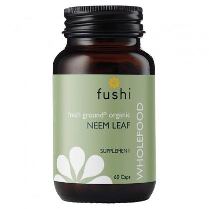 Neem BIO Ekologiczna Miodla indyjska sproszkowana 340 mg 60 kapsułek Fushi