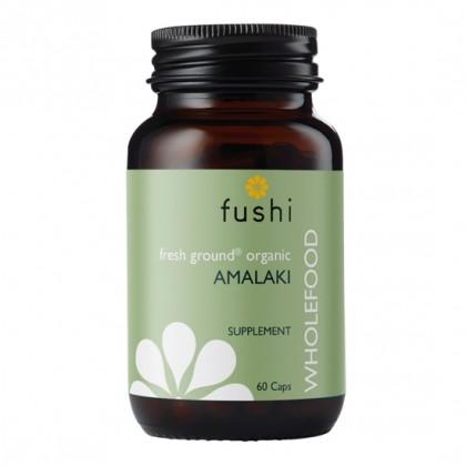 Amalaki BIO Ekologiczna Amla sproszkowana 500 mg 60 kapsułek Fushi
