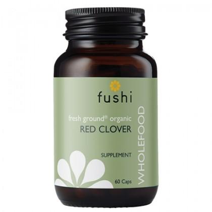 Red Clover BIO Ekologiczne Kwiaty Koniczyny Czerwonej Łąkowej 270 mg 60 kapsułek Fushi