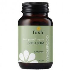 Gotu Kola BIO Ekologiczna Wąkrotka Azjatycka sproszkowana 370 mg 60 kapsułek Fushi