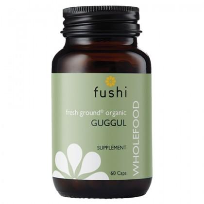 Ekologiczny Balsamowiec indyjski 450 mg BIO Guggul 60 kapsułek Fushi
