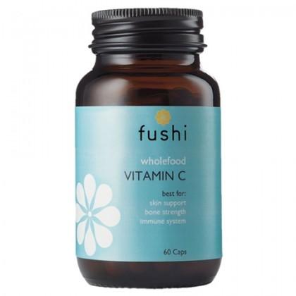 Fushi Whole Food Vitamin C - naturalna witamina C 60 kaps.