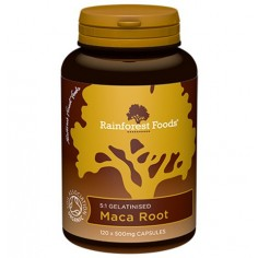 Maca BIO Rainforest Foods (120 kapsułek x 500 mg)