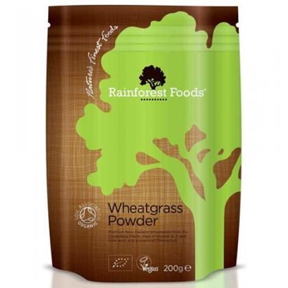 Trawa Pszeniczna BIO Rainforest Foods 200g