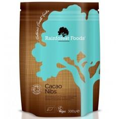 Kakao Kruszone Ziarna BIO Rainforest Foods