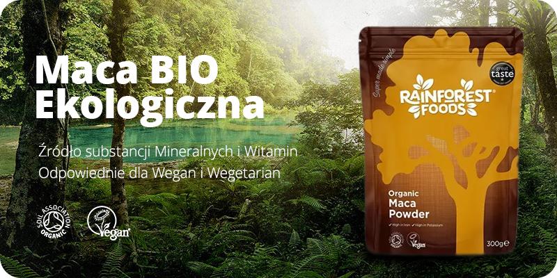 Maca BIO Ekologiczna 300g w proszku Rainforest Foods